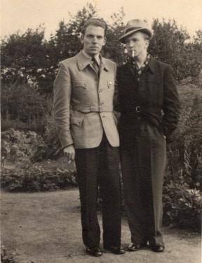Hamburger Swingjugendliche - September 1940.